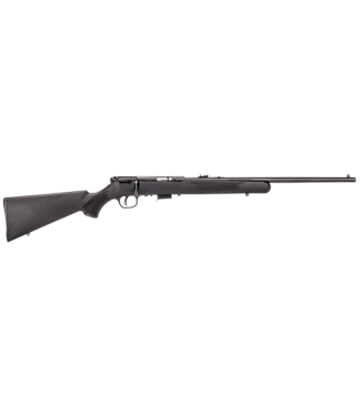 """SAVAGE SAVAGE ARMS MODEL 93 F BOLT-ACTION RIFLE (5 ROUND) .22 WMR - SYNTHETIC MATTE BLACK STOCK - 21"""" BARREL"""