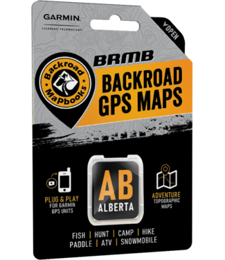 BACKROAD MAPBOOKS BACKROAD MAPBOOKS BACKROAD GPS MAPS - ALBERTA