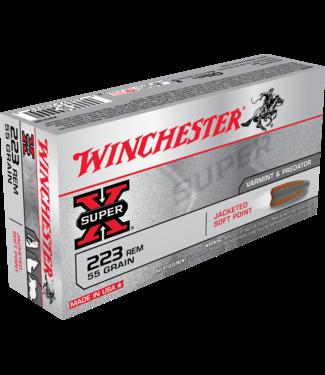 Winchester WINCHESTER .223 REM - 55GR (PSP) - SUPER X (20 CARTRIDGES)