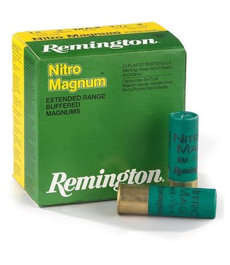 "REMINGTON REMINGTON 12-GAUGE - 3.00"" - #2 - 1 7/8 OZ - NITRO MAGNUM (25 SHOTSHELLS)"