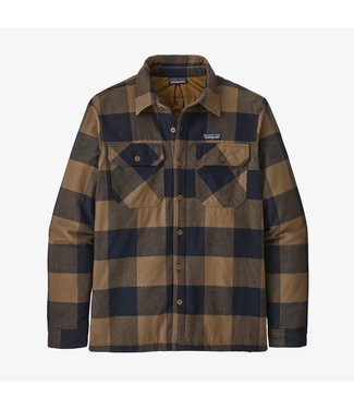 PATAGONIA MEN'S PATAGONIA INSULATED ORGANIC COTTON MIDWEIGHT FJORD FLANNEL SHIRT