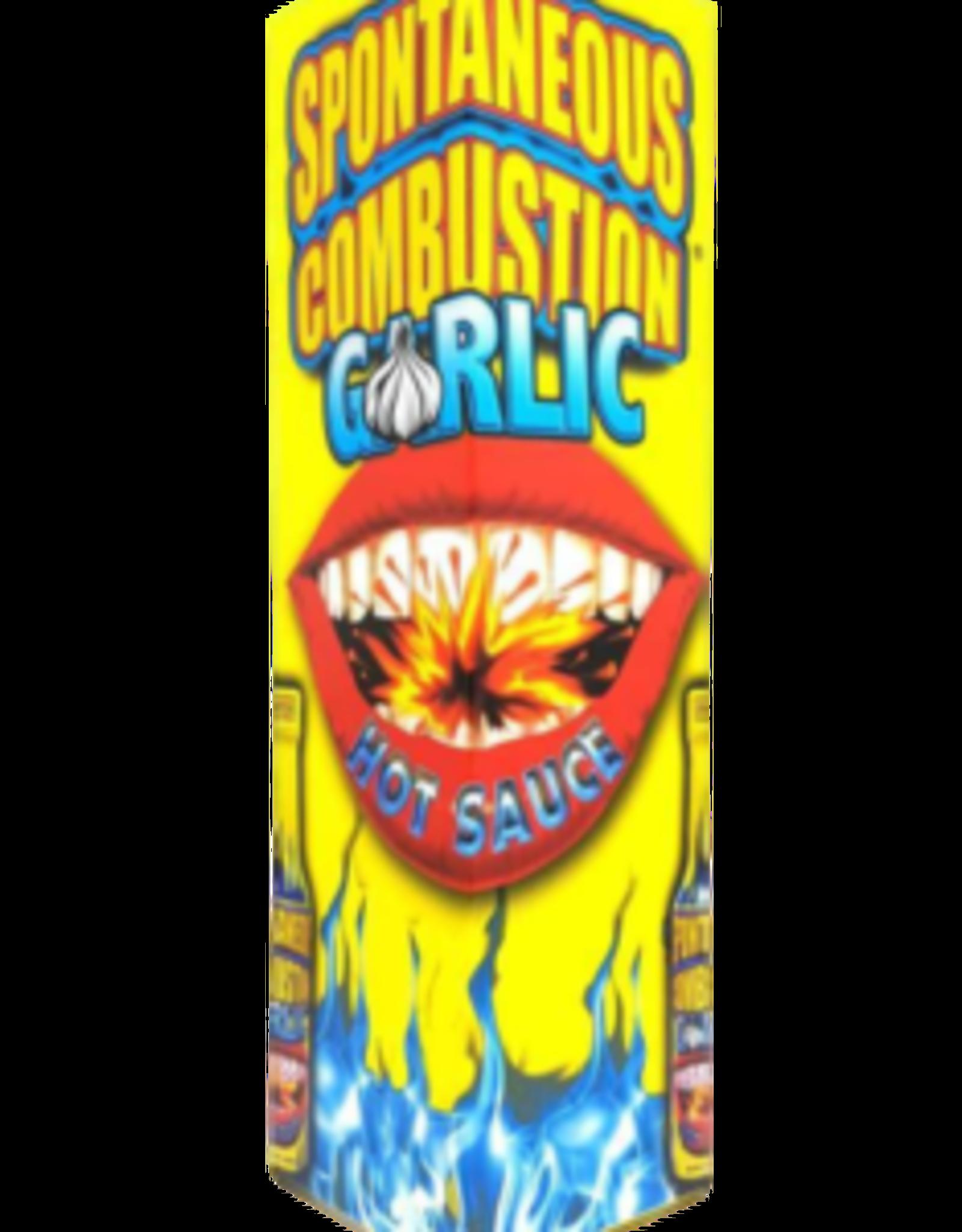 Spontaneous Combustion Garlic