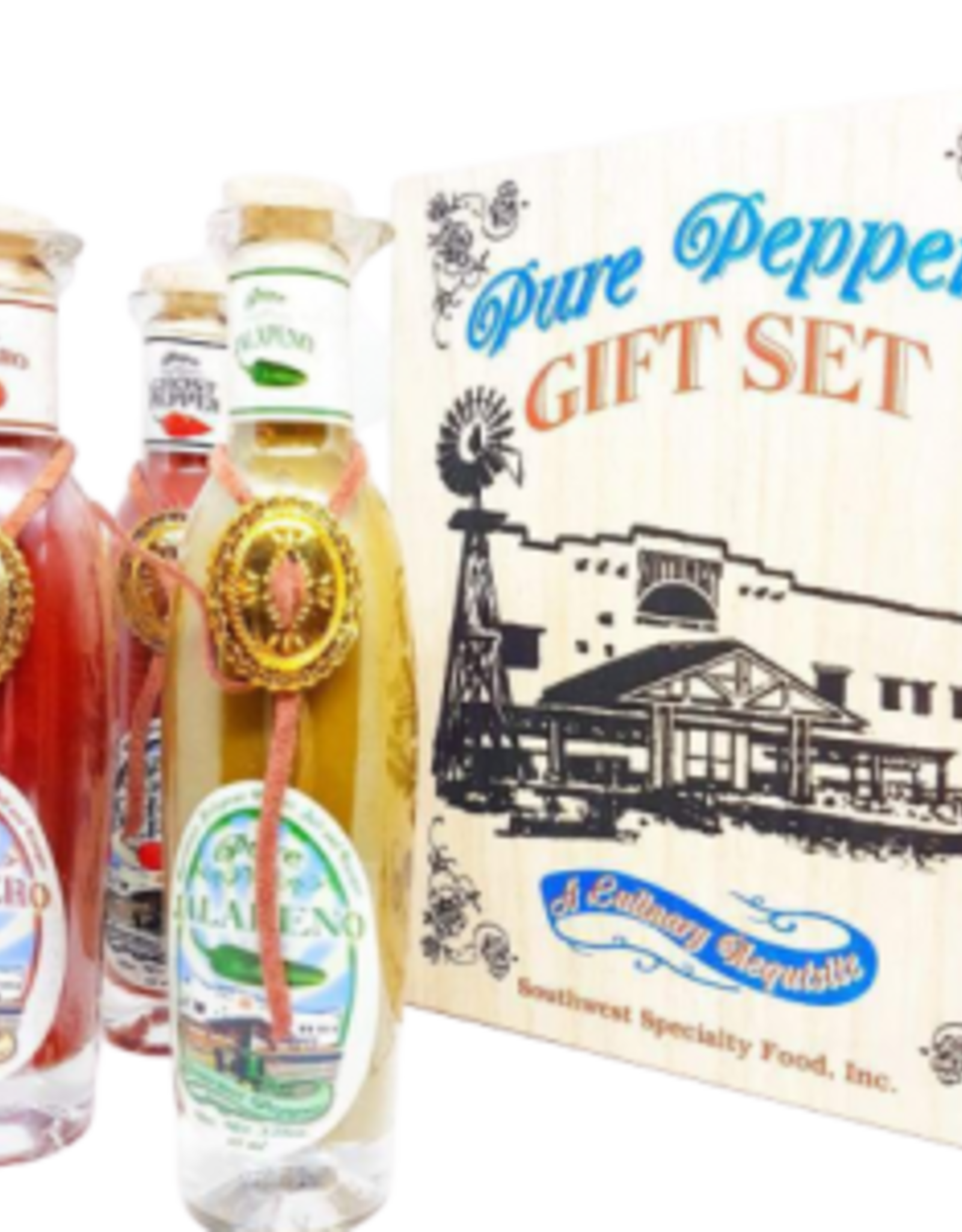 Pure Peppers Gift Set