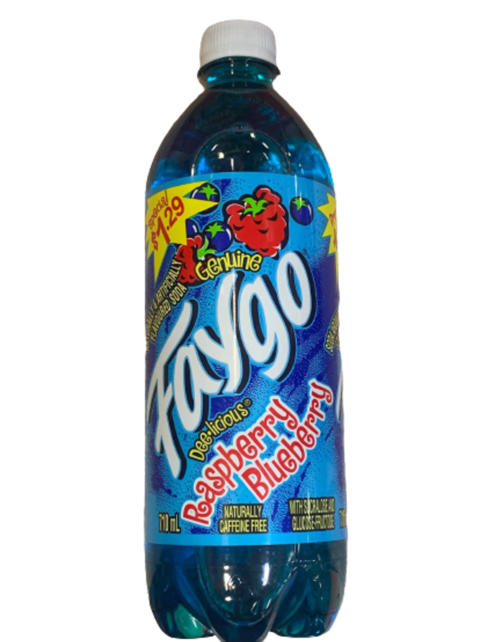 Faygo Raspberry Blueberry
