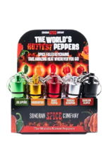 sonoran Spicy Filled Keychaines Ghost Pepper
