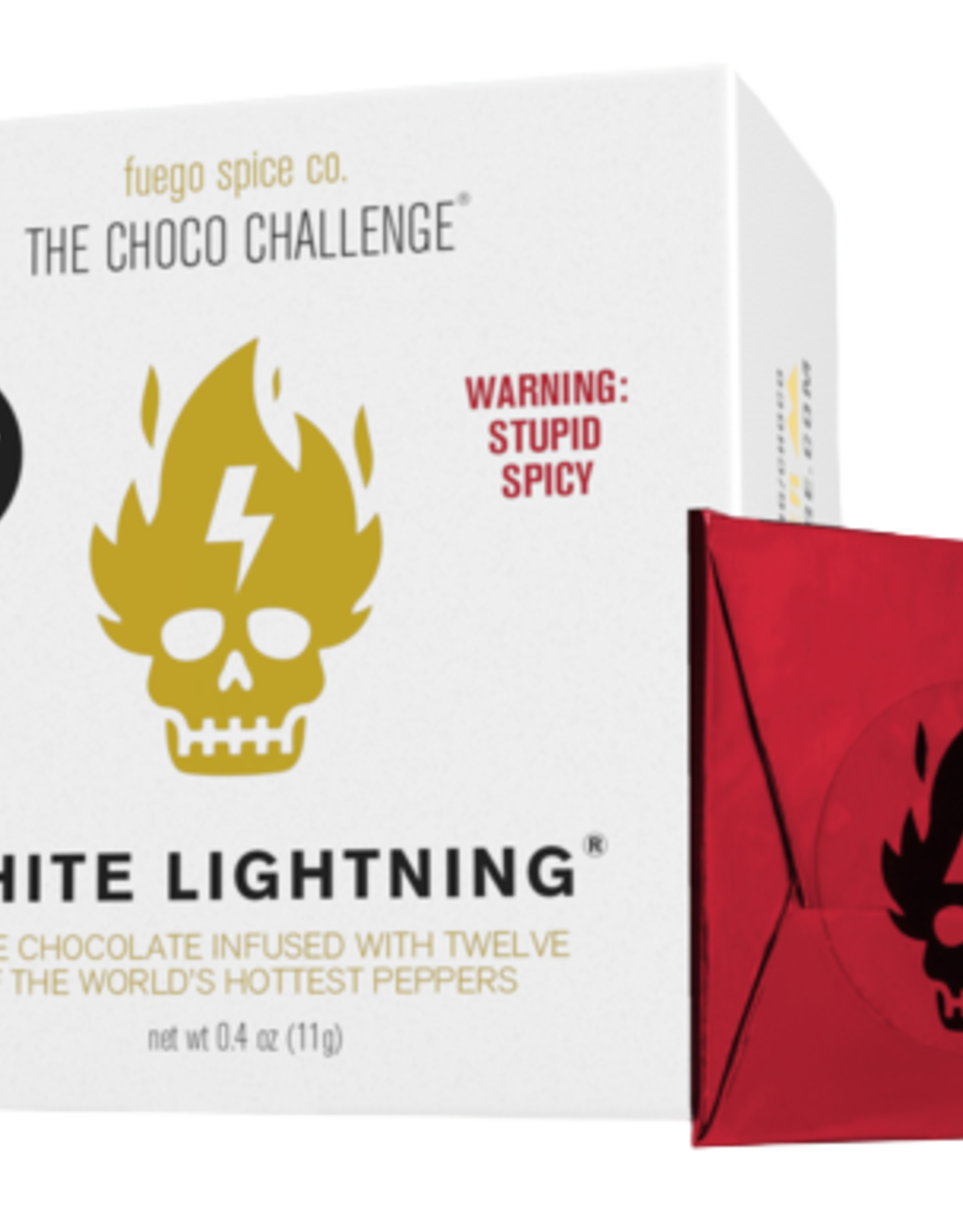 The Choco Challenge 2.0 - White Lightning (LIMITED QUANTITIES!)