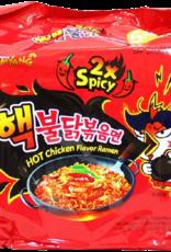 Samyang 2X Spicy Hot Chicken Flavor Pack of 5