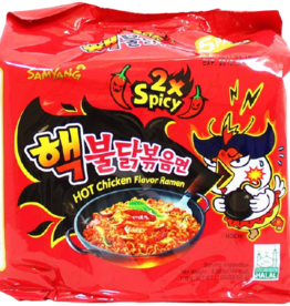Samyang 2X Spicy Hot Chicken Flavor Pack of 5