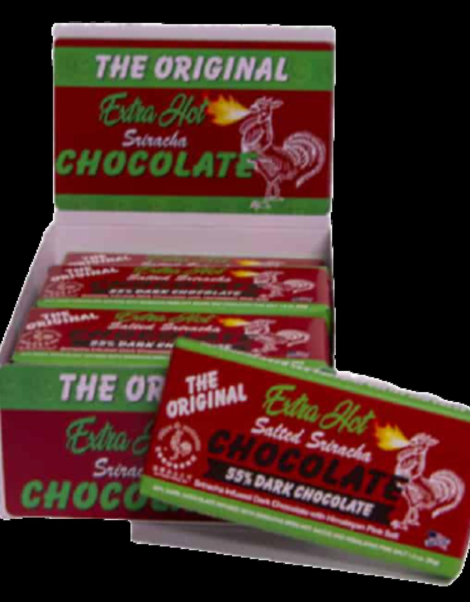Extra Hot Salted Sriracha 55% Dark Chocolate