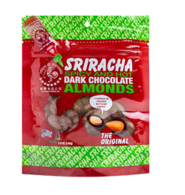 Sriracha Spicy & Hot Dark Chocolate Almonds