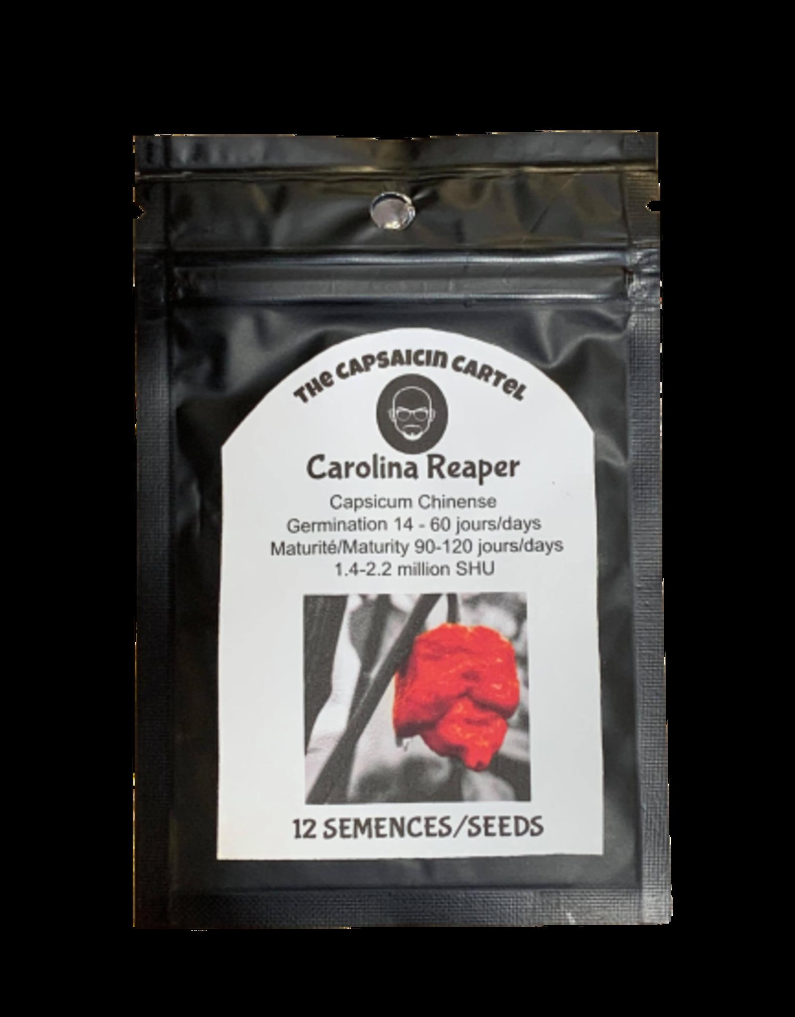 12 Semences Carolina Reaper