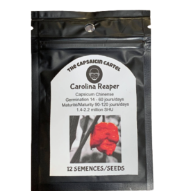 12 Semences Carolina Reaper