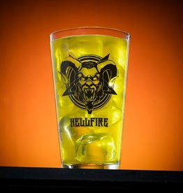 Hellfire 16 oz. Black Limited Edition  Pint Glass