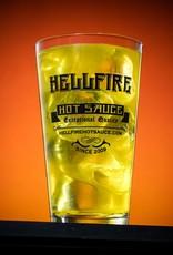 Hellfire 16 oz. Black Limited Edition  Pint Glass