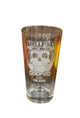 Doomed 16 oz Very Limited Edition Pint Glass