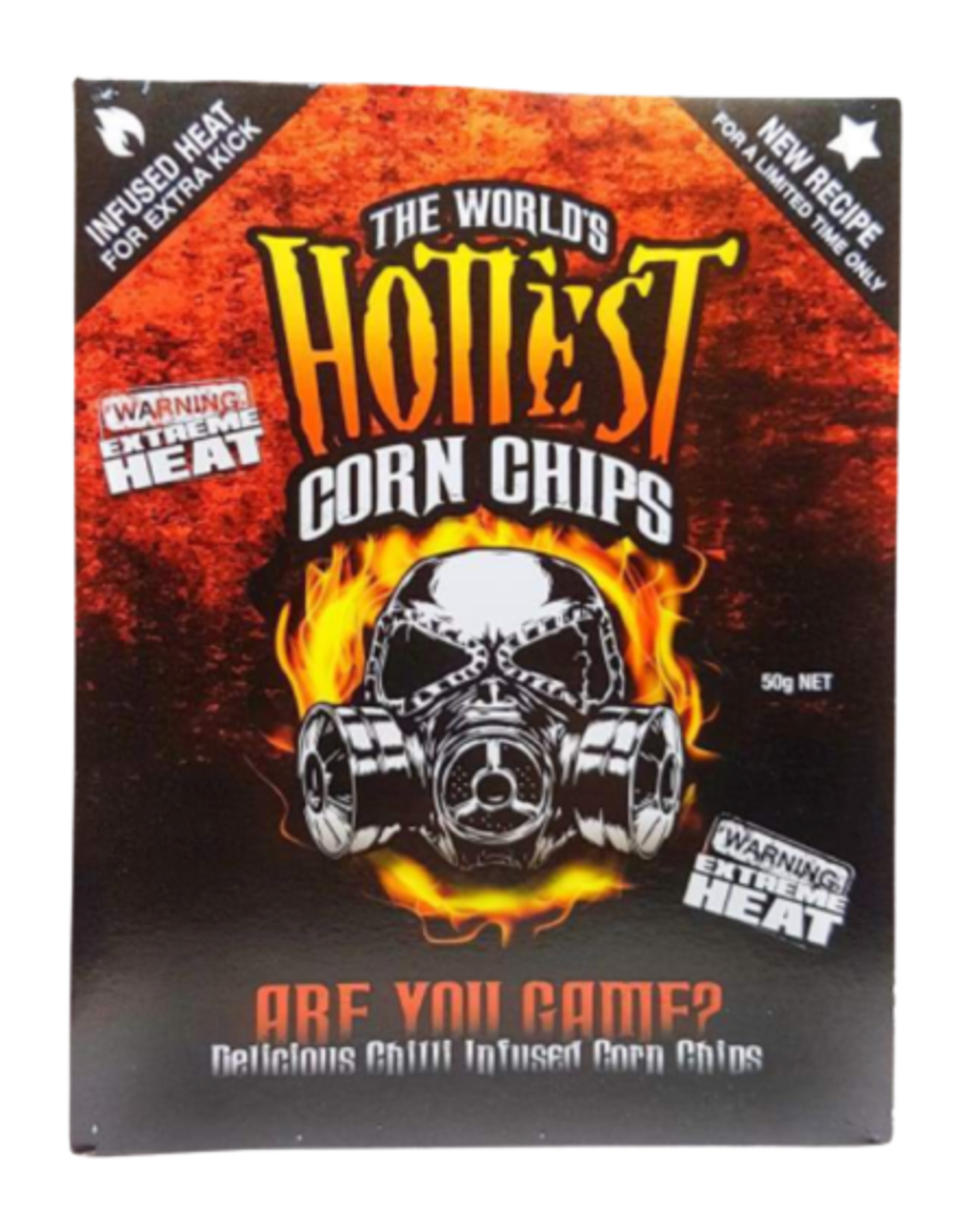The World's Hottest Corn Chip's