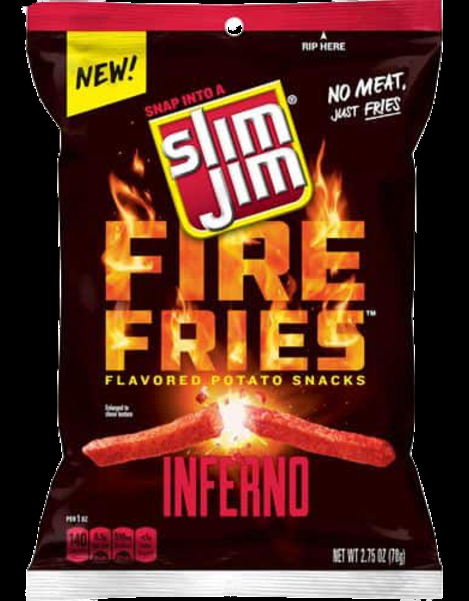 Slim Jim Fire Fries Inferno