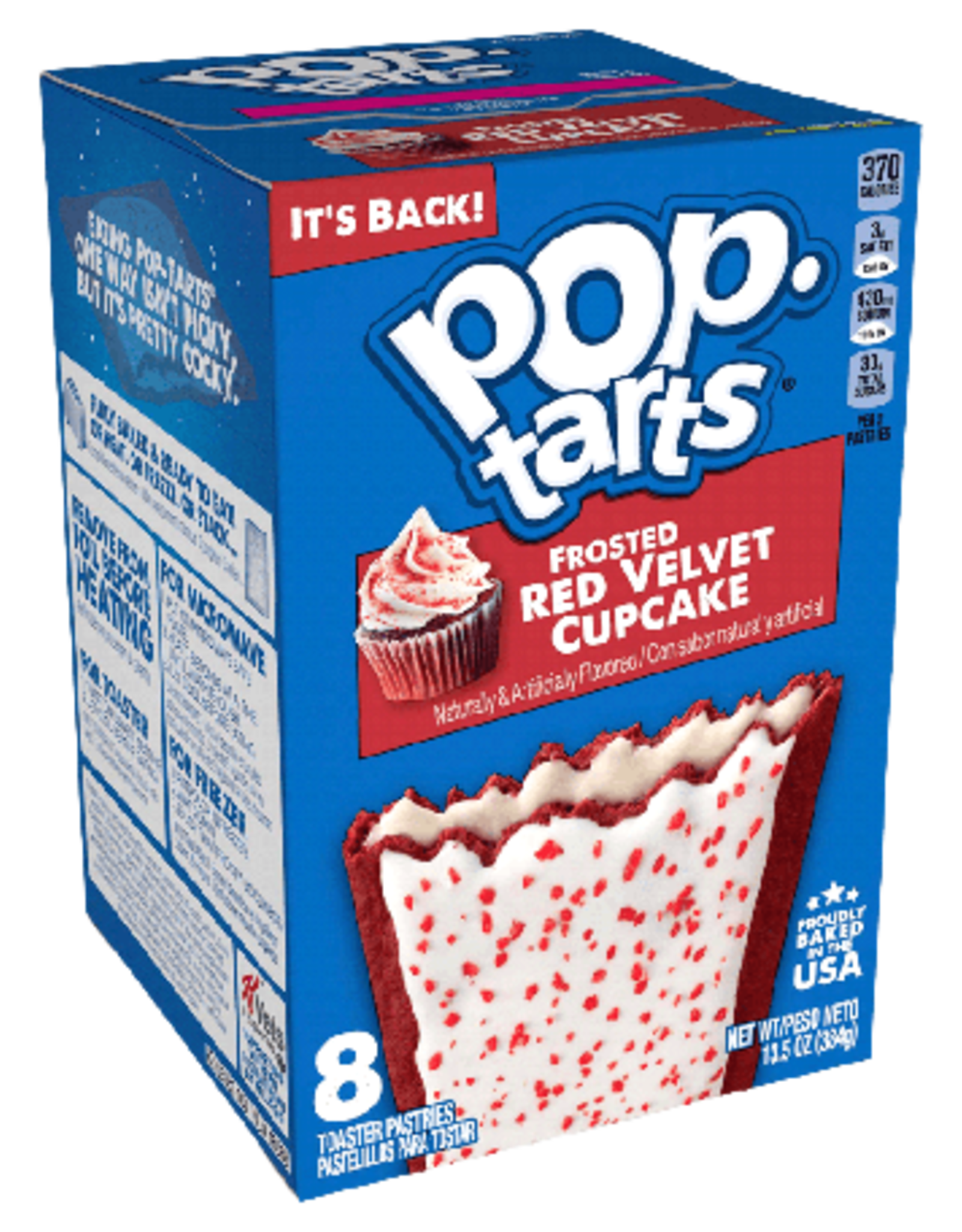 Pop Tarts Red Velvet Cupcake (PACK DE 2)