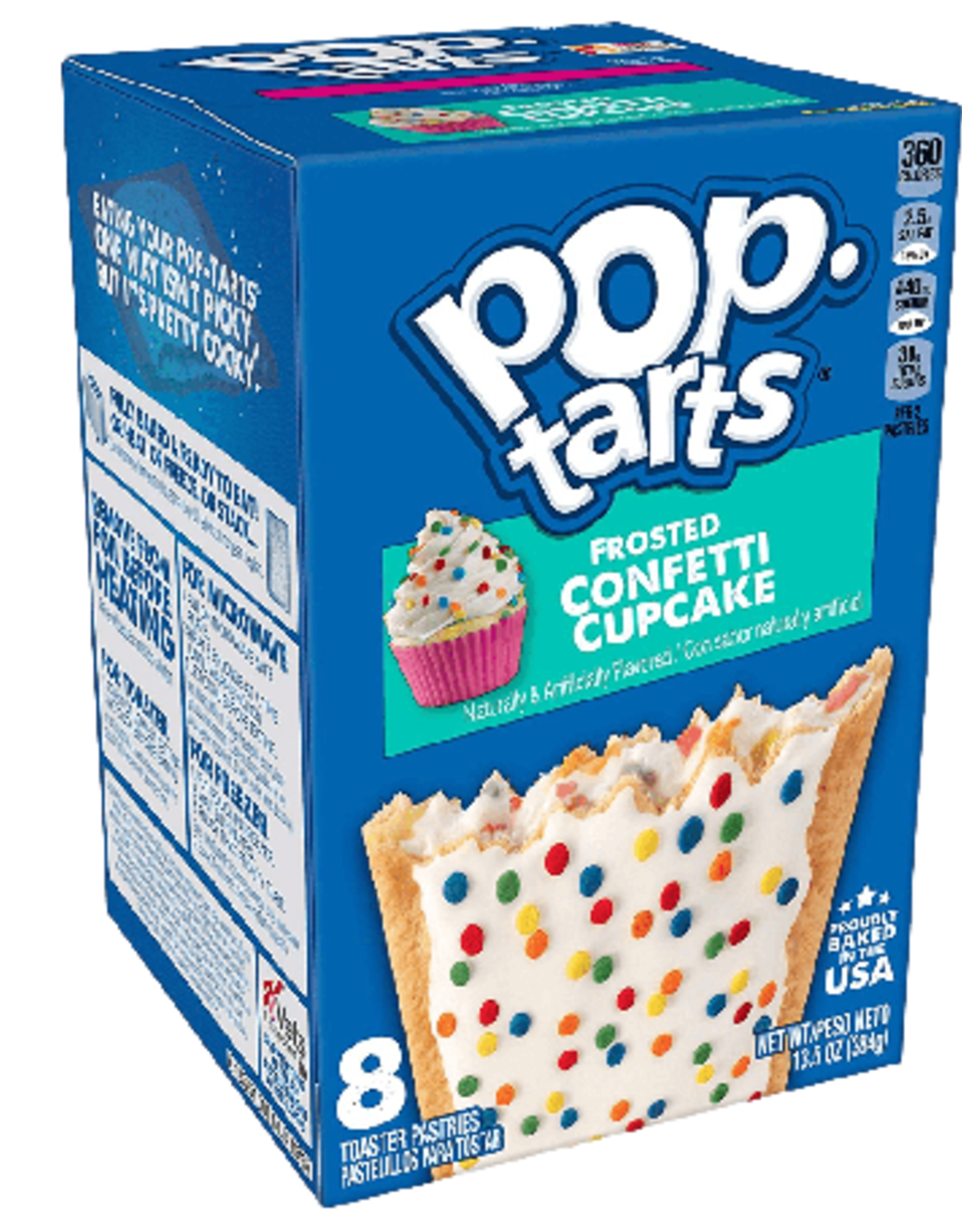 Pop Tarts Frosted Confetti Cupcake (PACK DE 2)