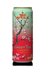 Arizona Red Apple Green Tea with Ginseng and Apple Juice