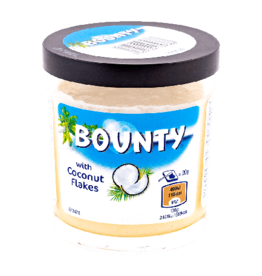 Bounty Spread with Coconut Flakes