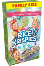 Kellogg's Rice Krispies with Spring Colors
