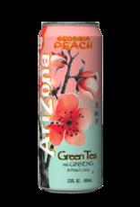 Arizona Georgia Peach Green Tea with Ginseng