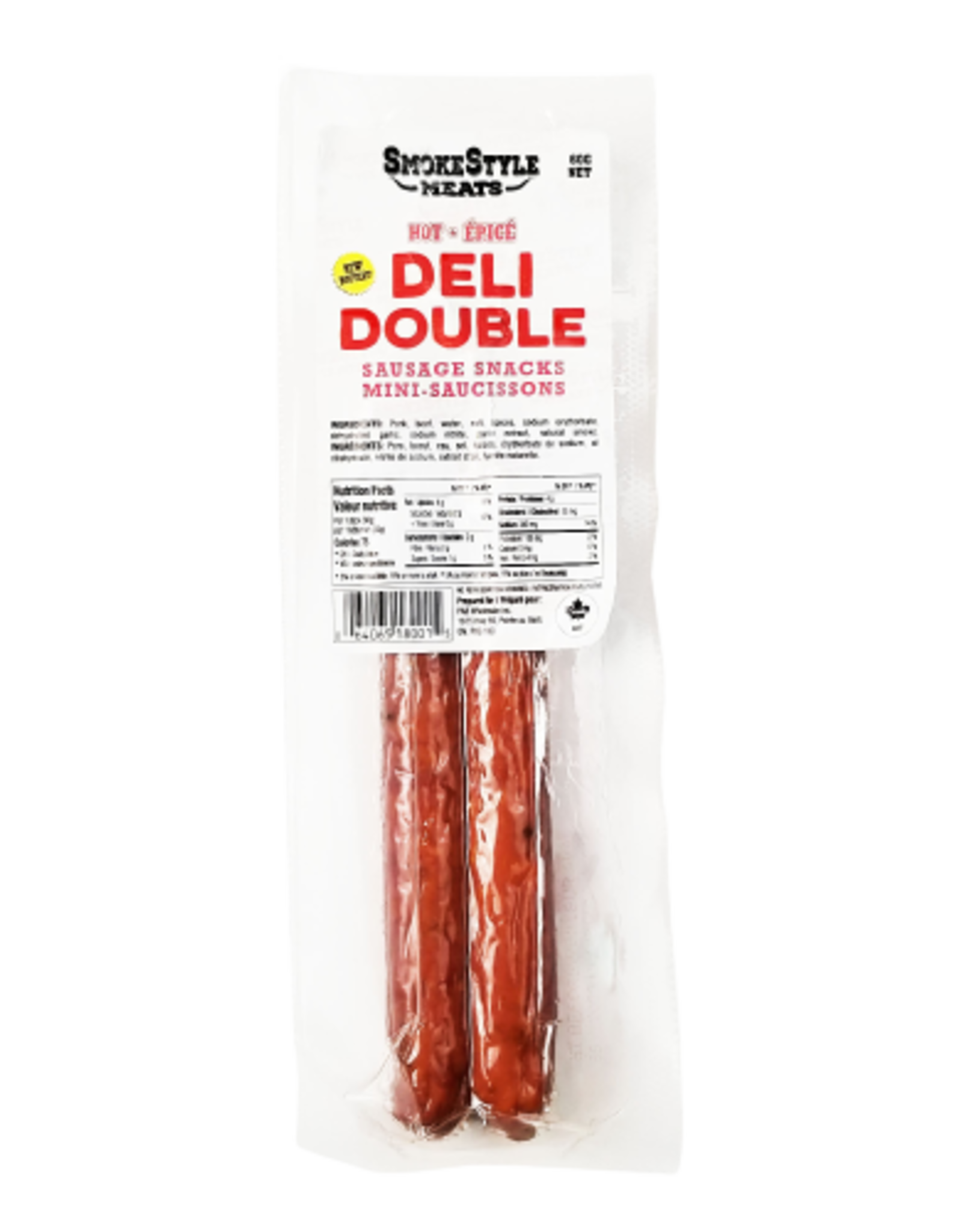 SmokeStyle Deli Double Hot