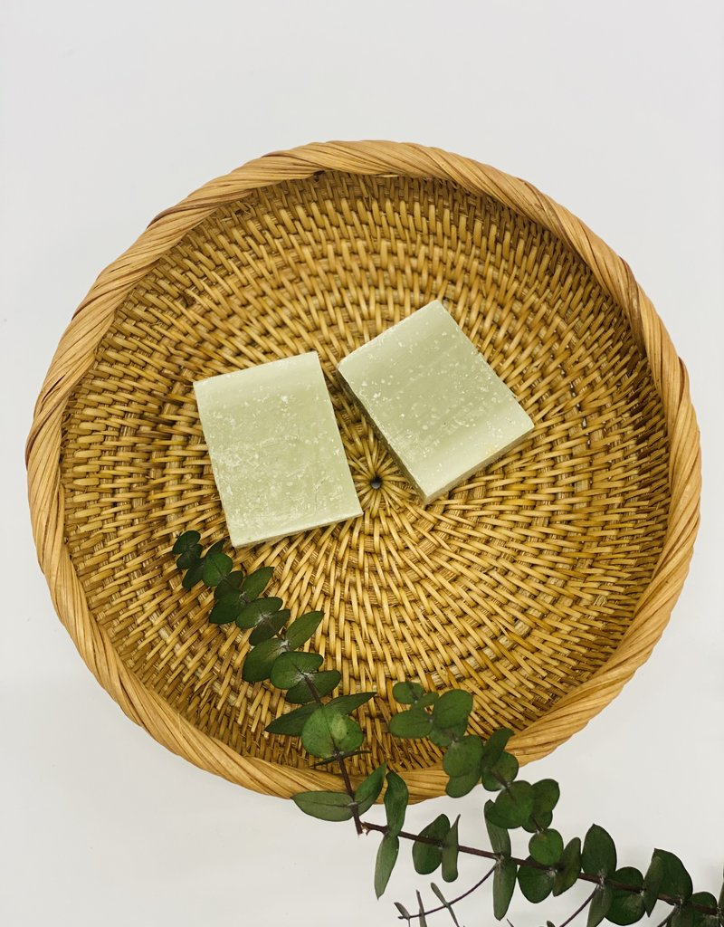 Green clay soap