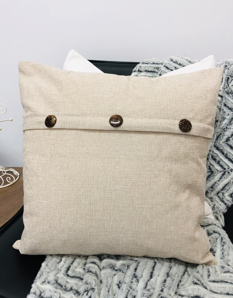 Lucie's linen cushion