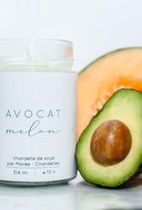 Chandelle de soya - Avocat Melon 314 ml
