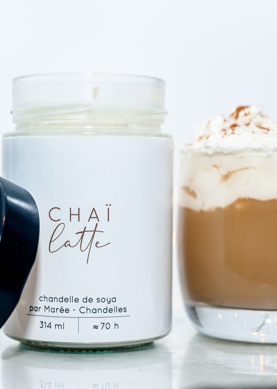 Chandelle de soya - Chai Latté 314 ml