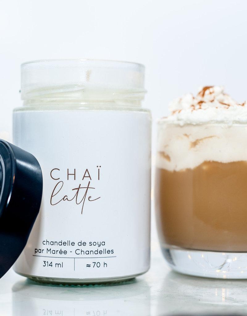 Chandelle de soya - Chai Latté 314 ml