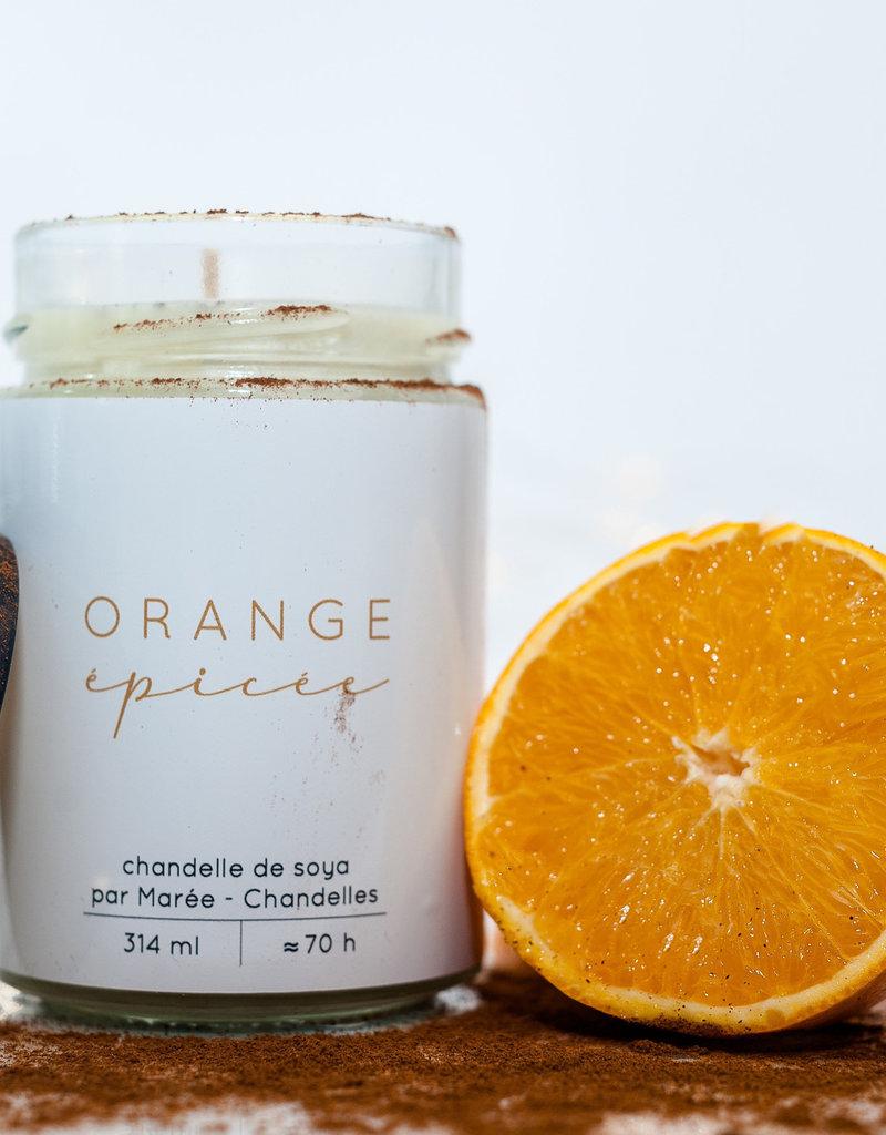 Chandelle de soya - Orange épicée 314 ml