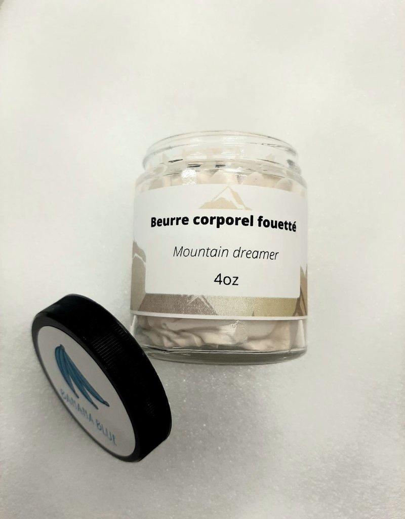 Beurre corporel fouetté - Mountain dreamer 4oz