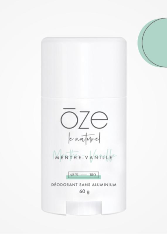 Déodorant Oze - Menthe & Vanille