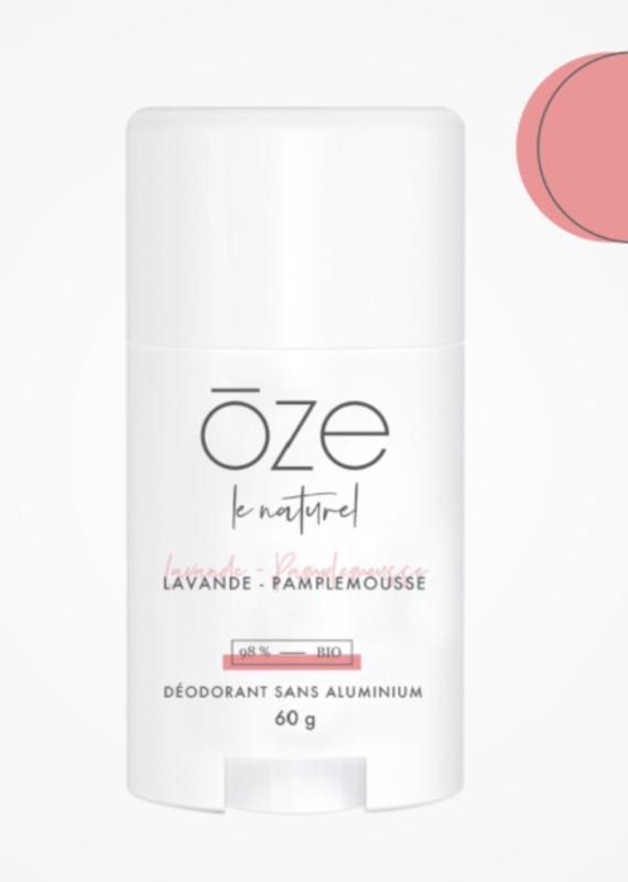 Déodorant Oze - Pamplemousse & Lavande