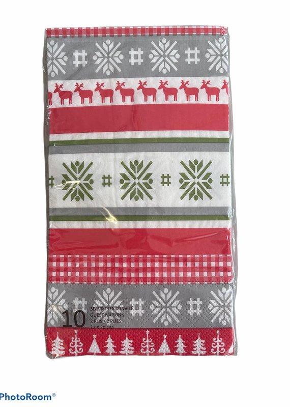 Serviette Noël nordique