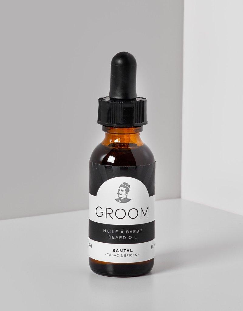 Beard oil - santal 30 ml.
