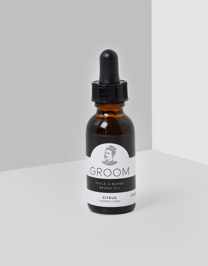Beard oil - citrus 60 ml.