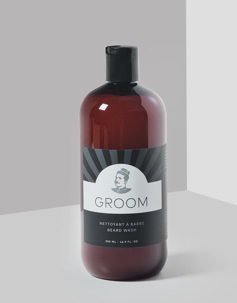 Nettoyant à barbe 500 ml.