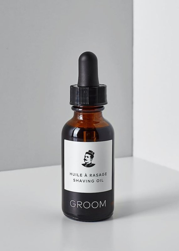 Shaving oil 30 ml.