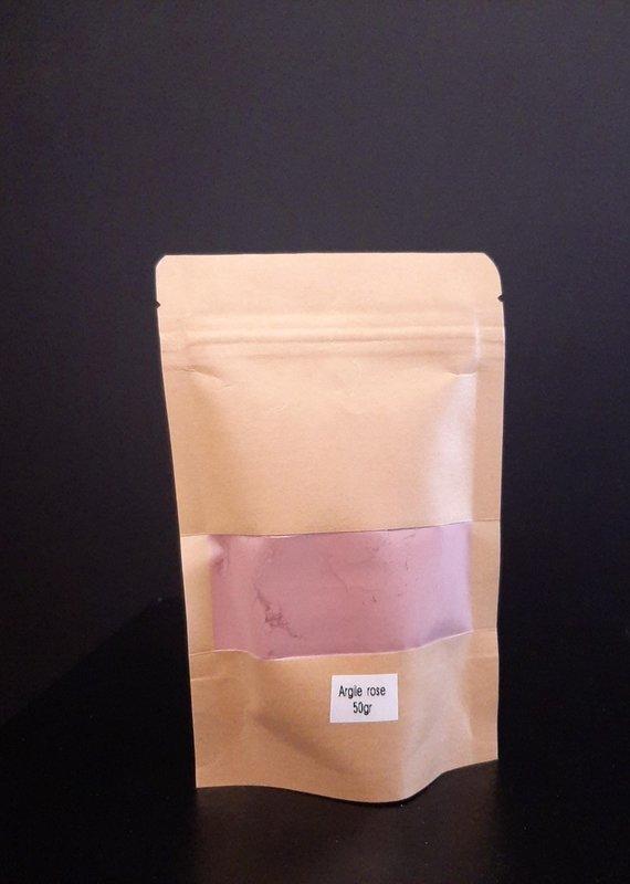 Masque argile rose - 50 gr