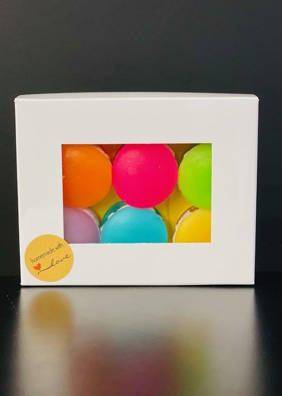 Boîte macarons - Savons glycerine