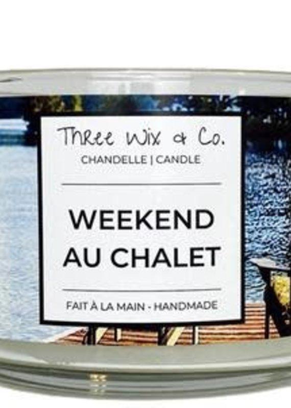 Chandelle Three Wix & Co - Weekend au chalet 12oz