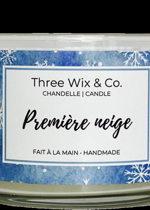 Chandelle Three Wix & Co - Première neige 12oz