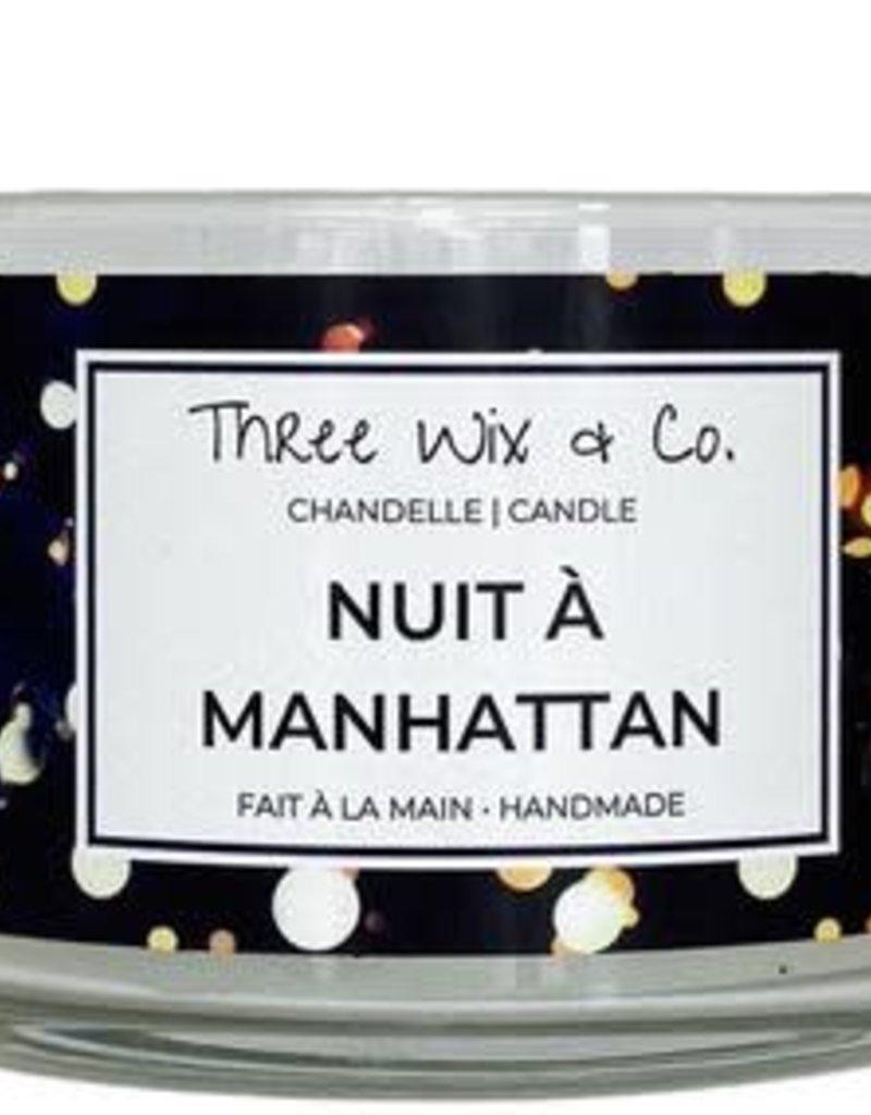 Chandelle Three Wix & Co - Nuit à Manhattan 12oz