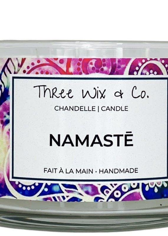 Chandelle Three Wix & Co - Namasté 12oz