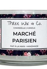 Chandelle Three Wix & Co - Marché parisien 12oz