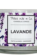 Chandelle Three Wix & Co - Lavande 12oz